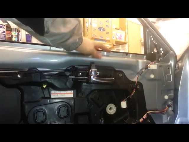 How to Change Replace Front Door Window Mazda 6 2005