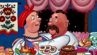 Жадная Мельничиха | Украинская сказка | мультики для детей | Greedy Miller's Wife | Kids Tv Russia