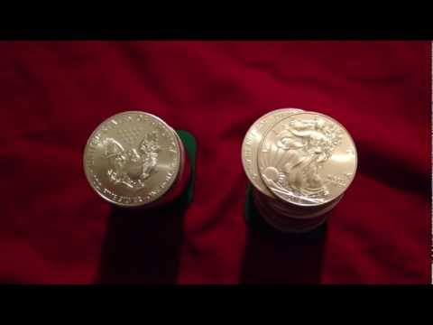 Silver Eagles Physical Silver Bullion