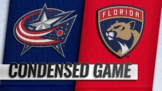 Columbus Blue Jackets vs Florida Panthers – Oct.11, 2018 | Game Highlights | NHL 18/19 | Обзор матча