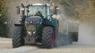 New Holland T7060, Fendt 1038 Vario & John Deere 8530 Full Baling Season | DK Agriculture