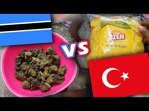 Botswana Lunch VS Turkish Lunch!