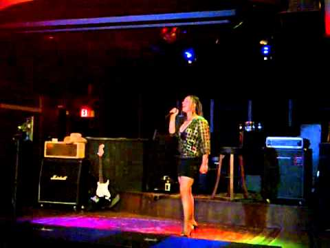 JILLIAN MANDY HART performs Natural Woman as a Warm-up for Karaoke Legend 2011
