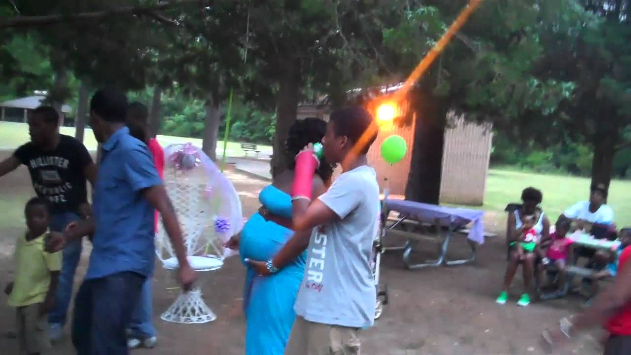 tishina baby shower at great lakes park pt 1 youtube