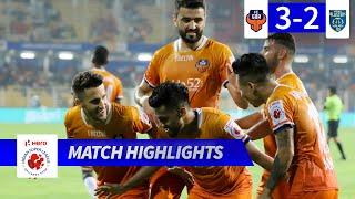 FC Goa 3-2 Kerala Blasters FC - Match 67 Highlights | Hero ISL 2019-20