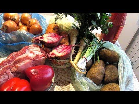 Рынок в Краснодаре. Цены на мясо, овощи для борщевого набора. 2020 год