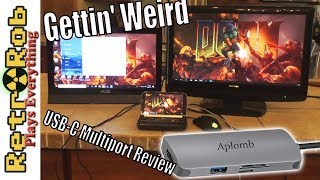 Aplomb USB-C to USB / SD/ MSD / HDMI Adapter Review and Thoughts