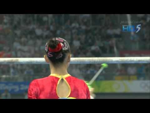 Yang Yilin - Uneven Bars - 2008 Olympics Team Final
