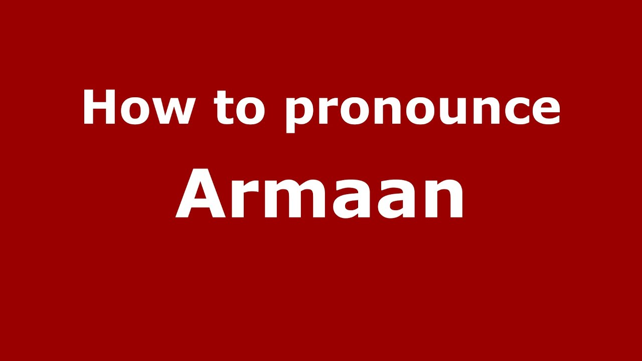 The meaning of the name Arman, fate and characteristics