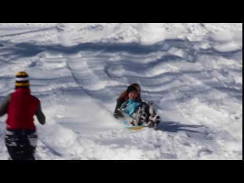 Disfrutando de la nieve en Foxcroft School