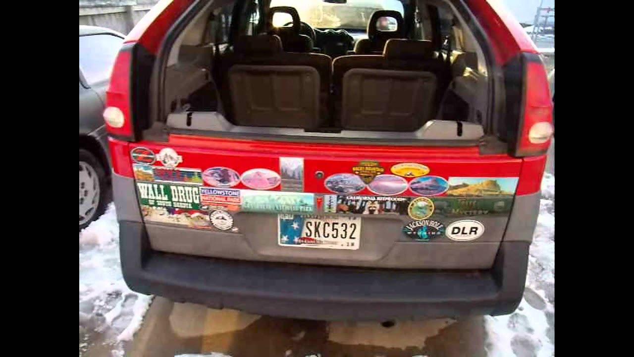 3 pontiac azteks green black and red gm 3400 2001 gt base aztek aztec [ 1280 x 720 Pixel ]