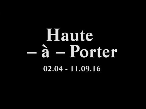 Haute-à-Porter at Modemuseum Hasselt (BE) curated by Filep Motwary