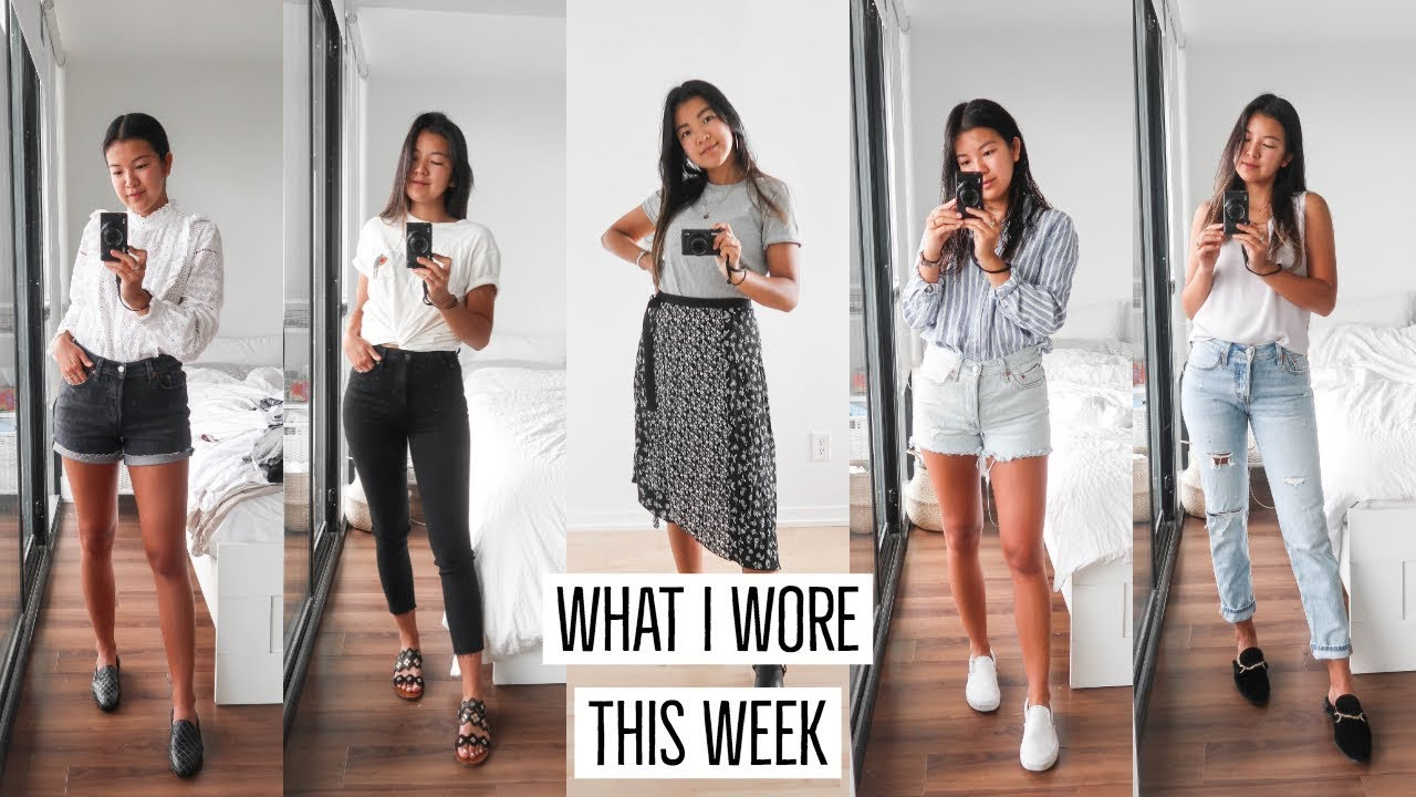 [VIDEO] - BACK TO SCHOOL OUTFIT IDEAS || WHAT I WORE THIS WEEK 1