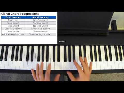 Modern Jazz  Atonal Harmony