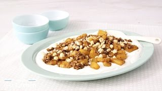 Caramelized Pineapple Yogurt Parfait Platter - From The Test Kitchen