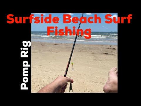 Surfside Jetty Surfside Beach Surf Fishing Texas Pompano Rig