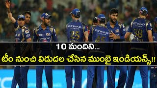 IPL 2019 : Mumbai Indians Retentions And Releases | Oneindia Telugu