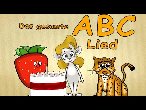 40 Minutes Alphabet - Song - The whole German ABC - Learn German fast