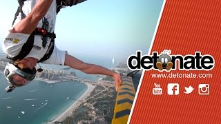 DUBAI BASE JUMPING IN 4K - DETONATE