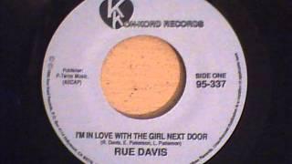 RUE DAVIS - I`M IN LOVE WITH THE GIRL NEXT DOOR
