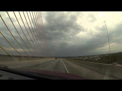 Crossing the Senator William V. Roth, Jr. Bridge in Delaware
