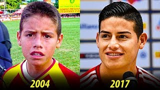 James Rodriguez - Transformation From 1 to 26 Years Old
