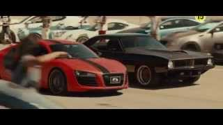 Форсаж 7:  Audi R8 FX Auto Design VS Plymouth Barracuda