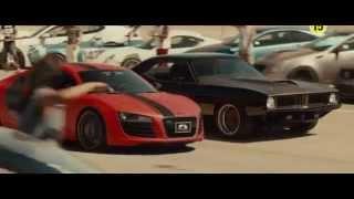 Форсаж 7:  Audi R8 FX Auto Design VS Plymouth Barracuda