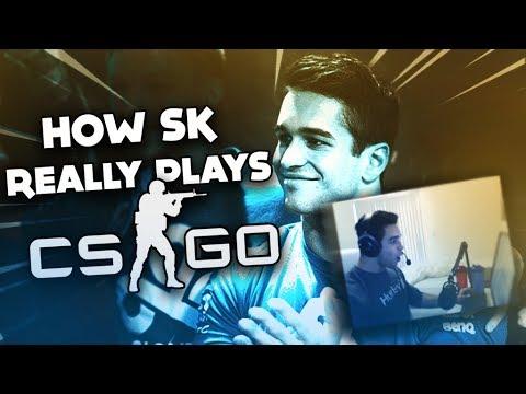 FREAKAZOID REACTS TO: HOW SK REALLY PLAYS CSGO