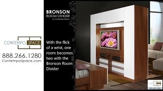 Bronson Room Divider - Wall Unit Room Divider | Item #: 23351