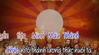 Yến Tiệc Thần Linh - karaoke playback - http://songvui.org