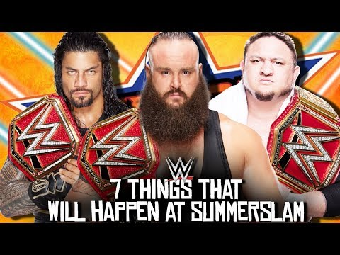 7 Things That WILL Happen At WWE...