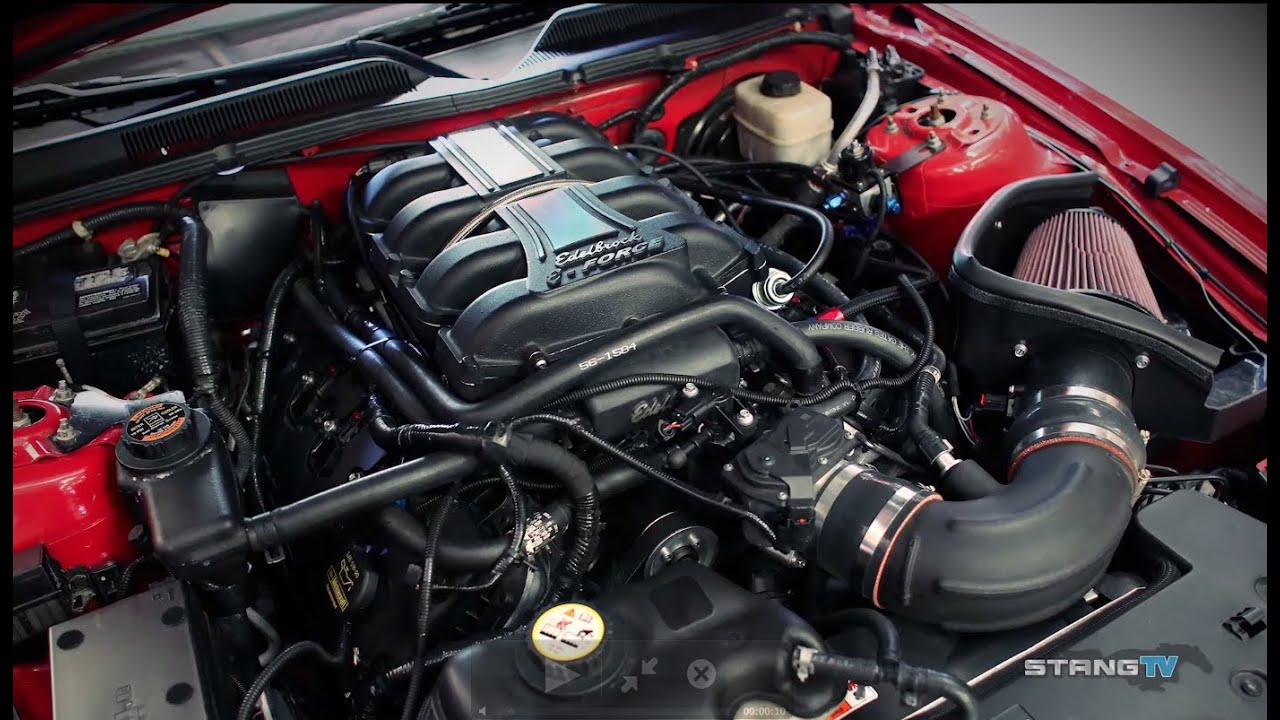 Edelbrock 700 Hp Crate Engine And 2008 Mustang Gt Youtube