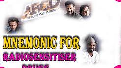 RADIOSENSITISER Drugs Mnemonic for NEET-PG, An Interesting RADIOLOGY Mnemonic