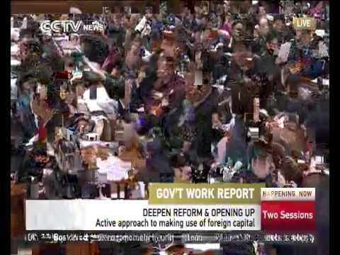 Premier Li delivers gov't work report