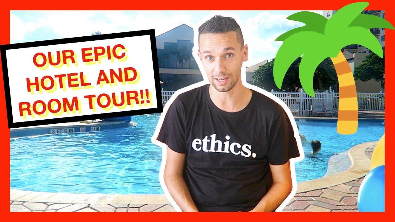 ENCLAVE SUITES INTERNATIONAL DRIVE ROOM & HOTEL TOUR ORLANDO FLORIDA!