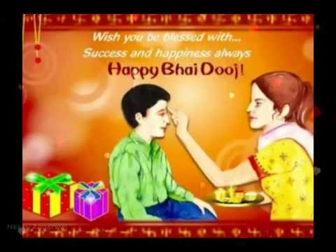 Happy bhai dooj blessingssms wishes greetings whatsapp video happy bhai dooj blessingssms wishes greetings whatsapp video message youtube m4hsunfo