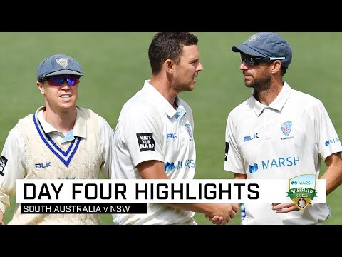 Blues Notch Third Straight Win After Hazlewood's Six | Marsh Sheffield Shield 2019-20