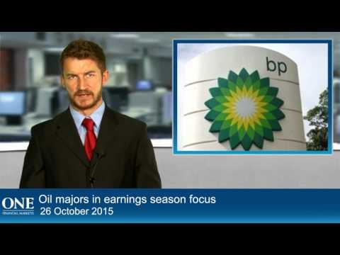 Oil majors in earnings season focus