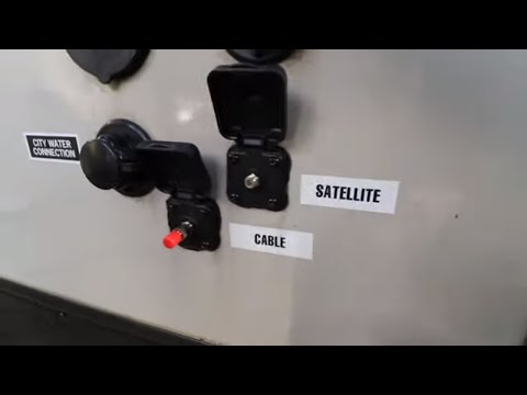 Camper TV Antenna, Cable, And Satellite Connection FIX