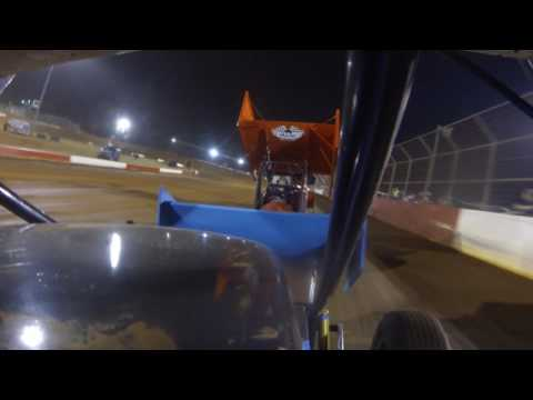 Sprint Car In Car Camera Talladega Short Track