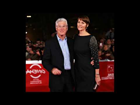 actor Richard Gere and His former wife actress Carey Lowell