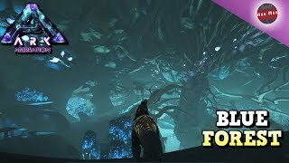 EXPLORING THE BLUE FOREST AND FINDING THE NAMELESS | ARK ABERRATION DLC [EP8]
