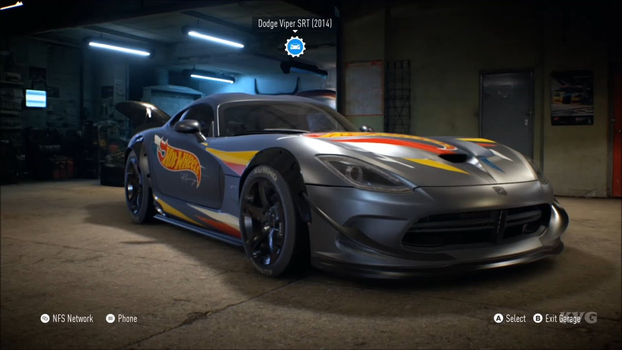 Need For Speed 2015 Dodge Viper Srt 2014 Customize Car