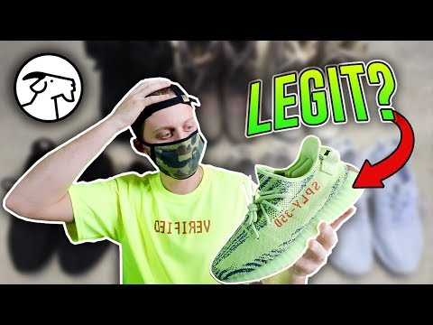 Are Early Yeezys From Goat Real???