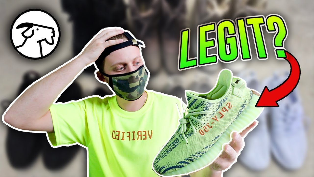 06f6218a8375e Are Early Yeezys From Goat Real    - YouTube