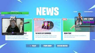 To Earn Money For Dad's Cancer Treatment 13-Year-Old Boy Streams Fortnite For 10 Hours Daily
