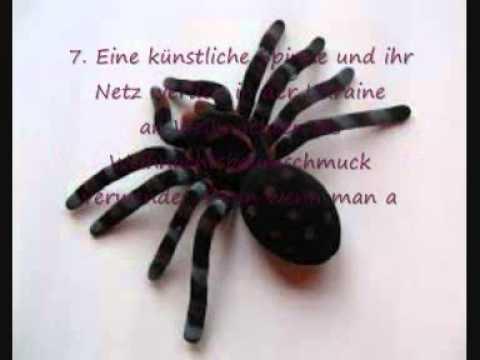 spinne als tannenbaum schmuck unn tzes wissen 03. Black Bedroom Furniture Sets. Home Design Ideas