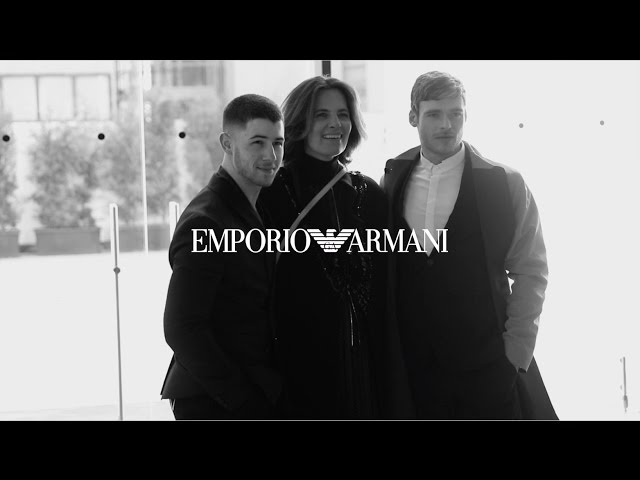 Emporio Armani - 2017/2018 Fall Winter Men's Fashion Show - Interviews