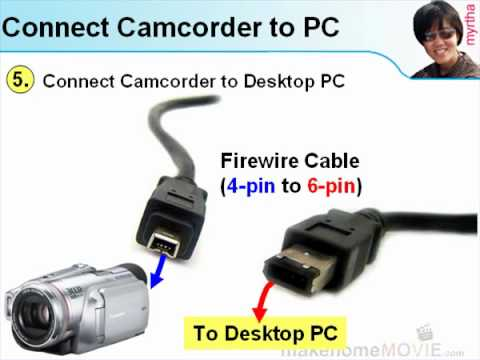 Part 2.2 - Connect Camcorder to PC